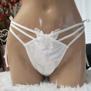Victoria's Secret butterfly strappy thong